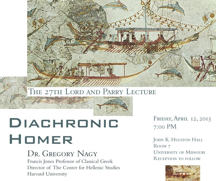 27th Lord and Parry Lecture